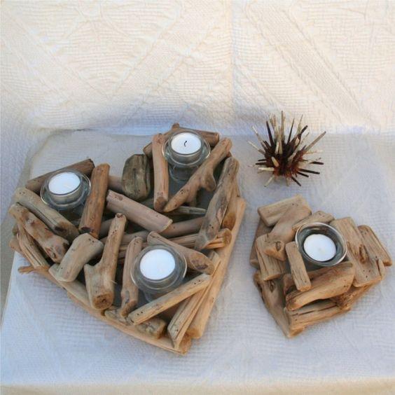 Lavoretti fai da te con legno di mare 20 splendide idee for Dischi di legno