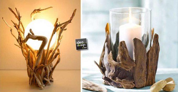 Lavoretti fai da te con legno di mare 20 splendide idee for Lavoretti fai da te per la casa