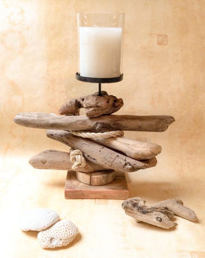 Lavoretti fai da te con legno di mare 20 splendide idee - Decorazioni legno ...