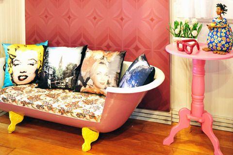 Idea riciclo vecchia vasca da bagno 1 ideadesigncasa - Vasca da bagno vecchia ...