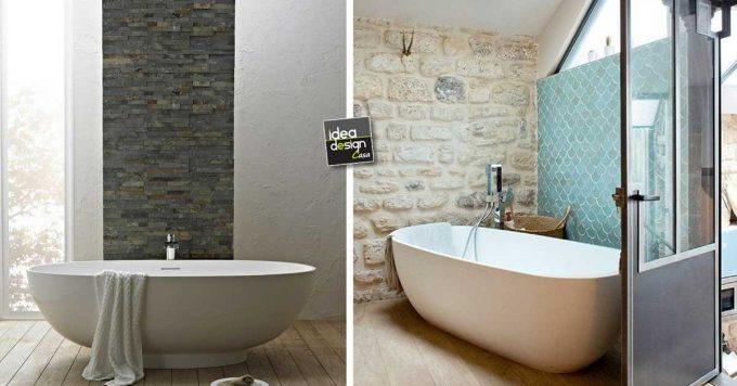 Rivestimenti in pietra nel bagno 20 esempi bellissimi a cui ispirarsi for Rivestimenti bagno classici
