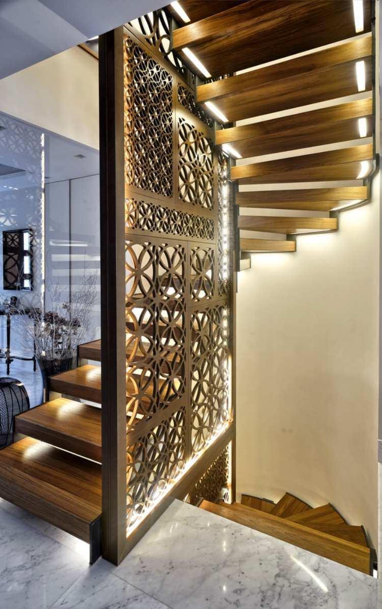 Illuminare le scale con le luci a led! ecco 20 idee design per ...