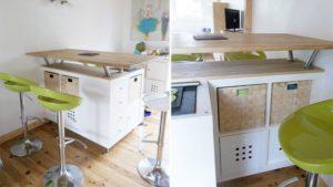 idee scaffali IKEA isola cucina 9 - IdeaDesignCasa