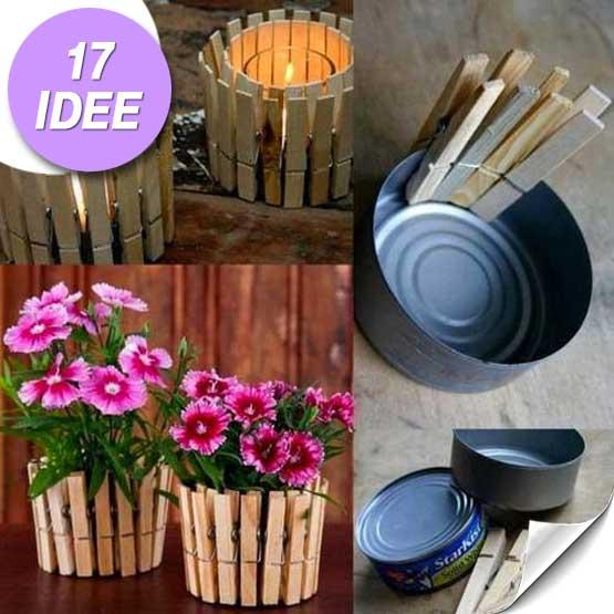 Riciclo creativo delle scatolette di tonno ecco 17 idee for Riciclo creativo per la casa