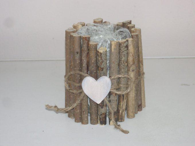 Cachepot fai da te con dei legnetti 20 idee stupende per for Casa barbie fai da te legno