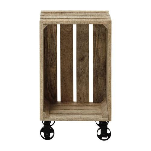 Cassette in legno per decorare casa 20 idee lasciatevi for Boite a chapeau maison du monde