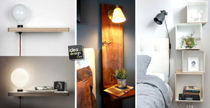 Comodini originali per la camera da letto! 20 idee lasciatevi