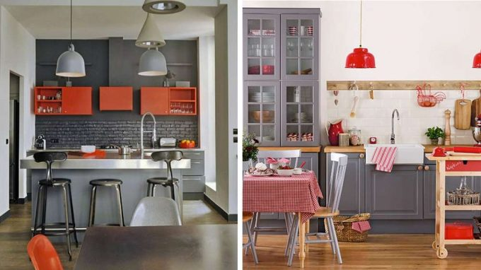 ispirazione cucina un tocco bistrot in cucina 20 idee. Black Bedroom Furniture Sets. Home Design Ideas