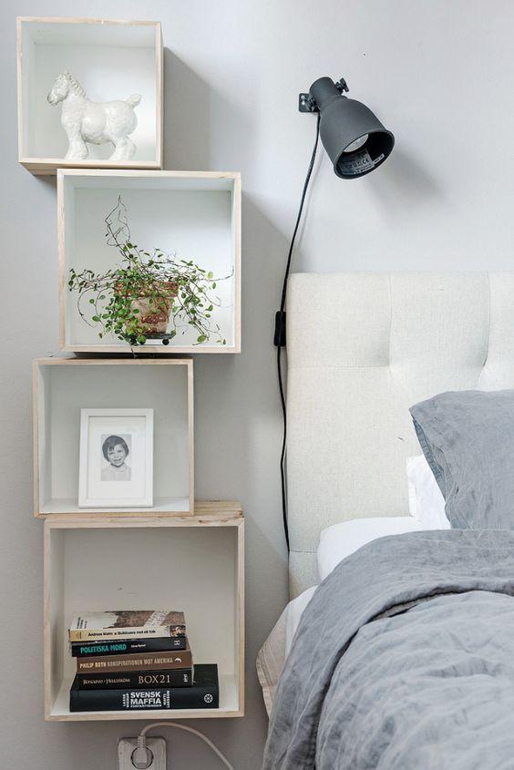 Comodini originali per la camera da letto! 20 idee ...