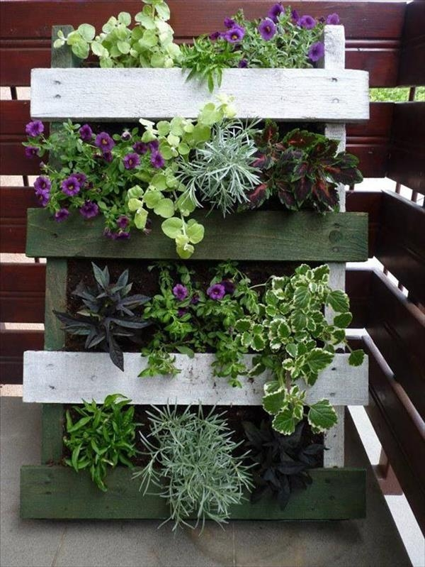 Mini Giardini con bancali