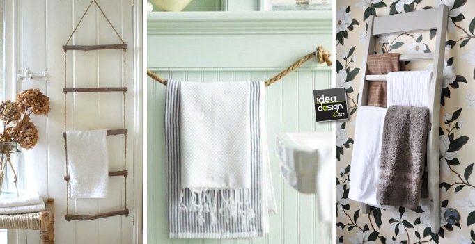 Porta Asciugamani Bagno Da Muro : Un porta asciugamani fai da te con materiali di riciclo idee