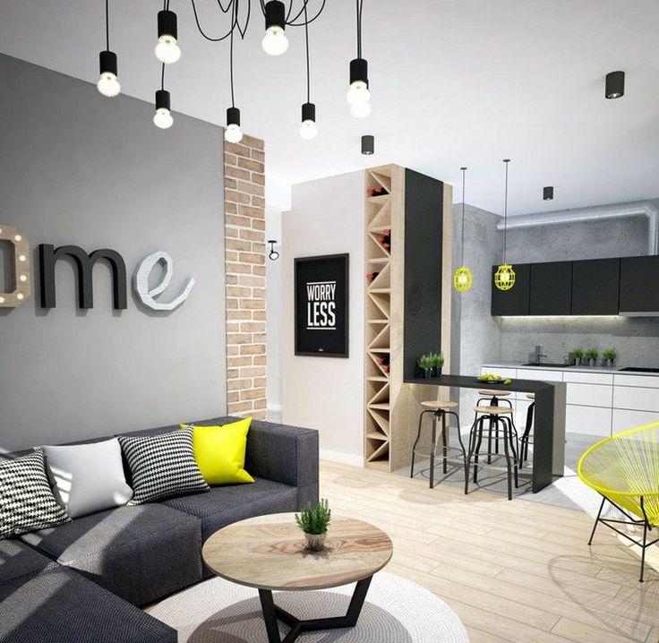 abbinare giallo e nero nel salone ecco 20 idee da cui trarre ispirazione. Black Bedroom Furniture Sets. Home Design Ideas