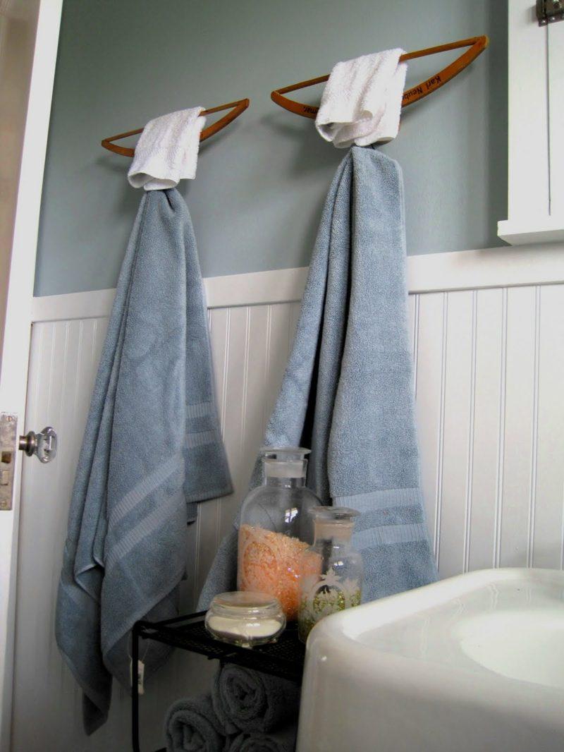 Appendi Accappatoio Da Terra un porta asciugamani fai da te con materiali di riciclo! 20
