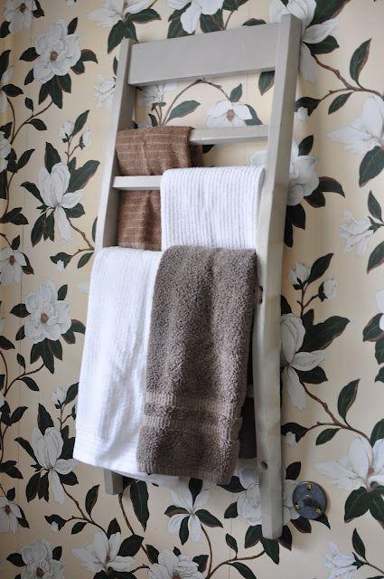 Conosciuto Un porta asciugamani fai da te con materiali di riciclo! 20 idee  JD69