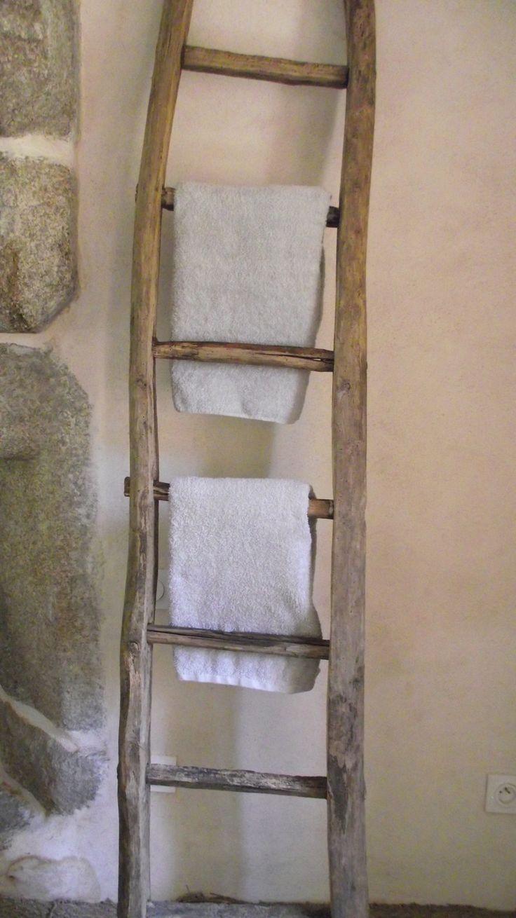 Un porta asciugamani fai da te