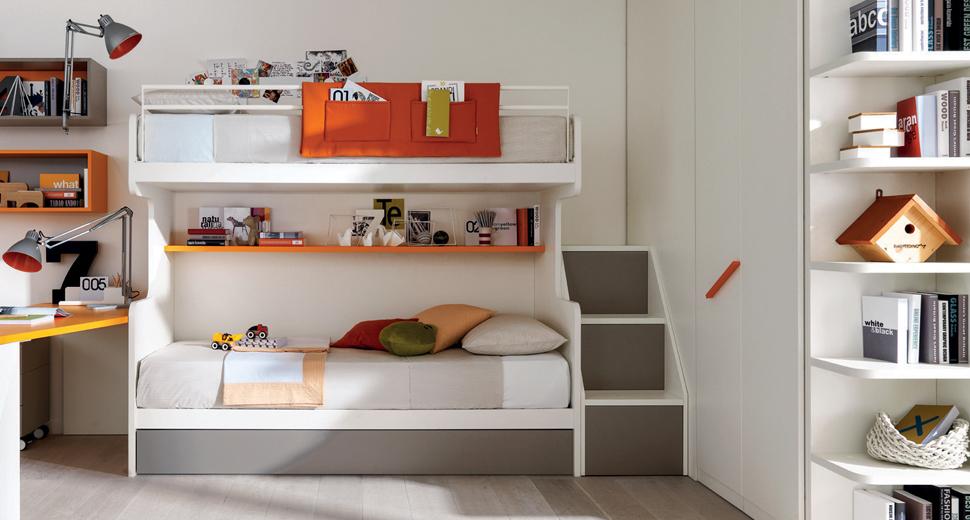 Come arredare con un letto a soppalco! 20 idee per ispirarvi...