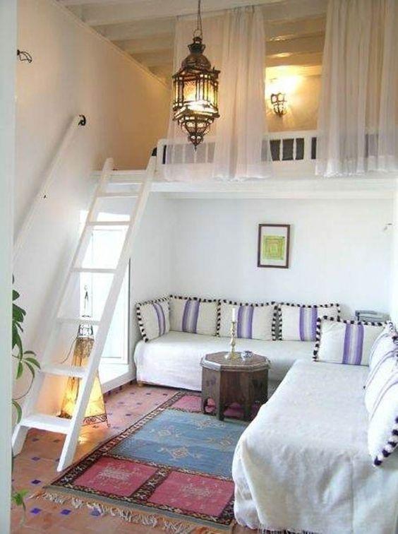 Come arredare con un letto a soppalco 20 idee per for Soppalco d arredo