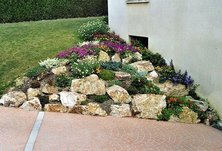 Realizzare un giardino roccioso 20 esempi bellissimi video for Progetto aiuole per giardino