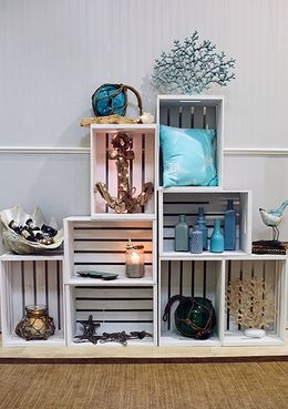 Wooden boxes for decorating home 20 creative ideas