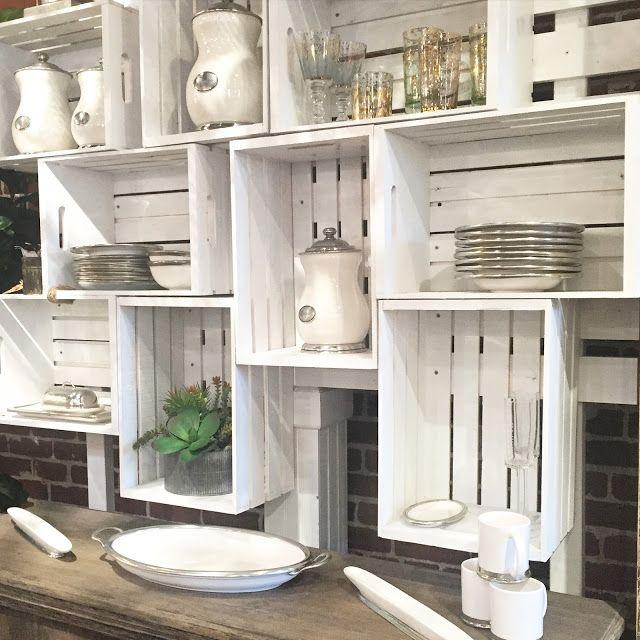 Le cassette di legno per arredare casa 20 idee creative - Idea design casa ...