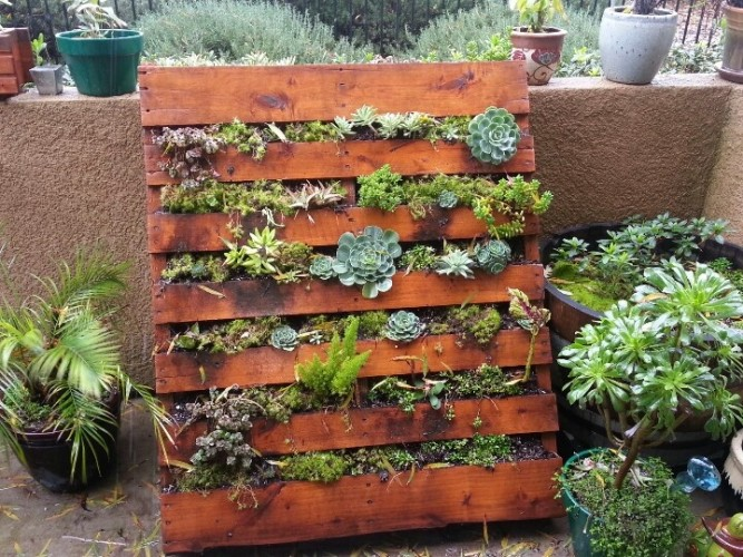Pallet for decorating your garden! 20 ideas ... Get inspired ...