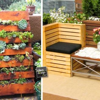 Home ideadesigncasa - Arredare giardino con bancali ...