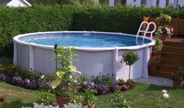 Come abbellire una piscina fuori terra o seminterrata! Ecco 20 idee ...