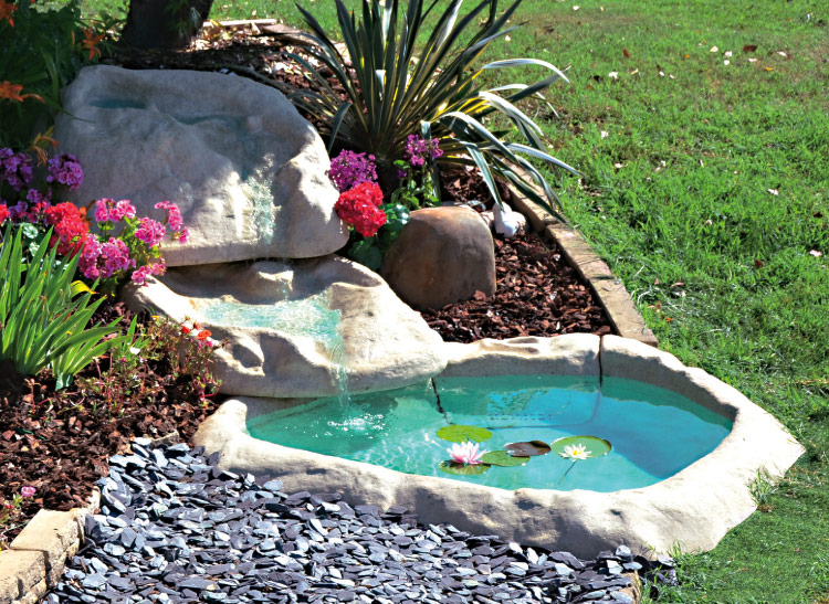 Una piccola oasi in giardino 20 idee stupende tutorial for Laghetto tartarughe esterno