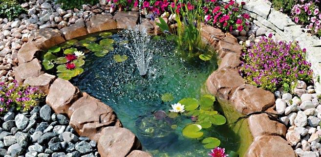 Una piccola oasi in giardino 20 idee stupende tutorial for Laghetto pesci rossi e tartarughe