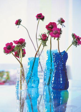 Bricolage Con Bottiglie Di Plastica.Un Vaso Di Fiori Fai Da Te Con Una Bottiglia Di Plastica 17 Idee