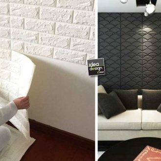 Decorare le scale per natale 20 idee a cui ispirarsi for Tavole adesive 3d