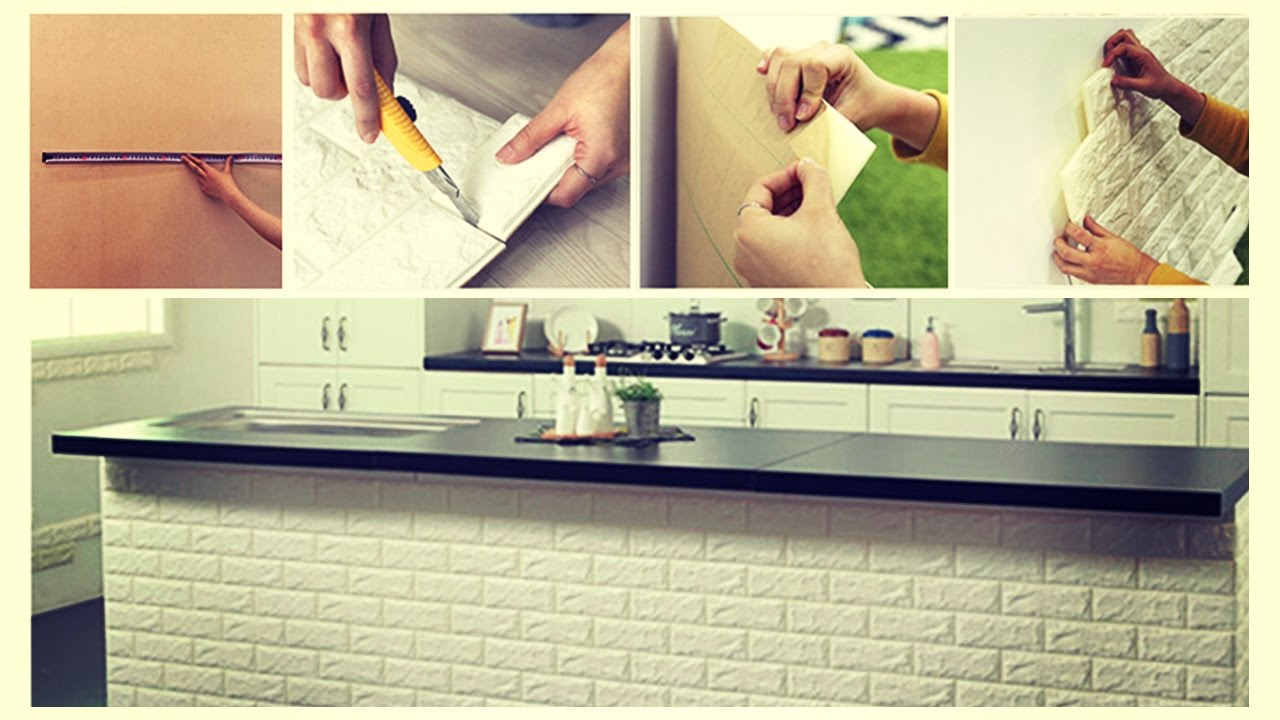 decorare le pareti di casa con le tavole adesive 3d ecco