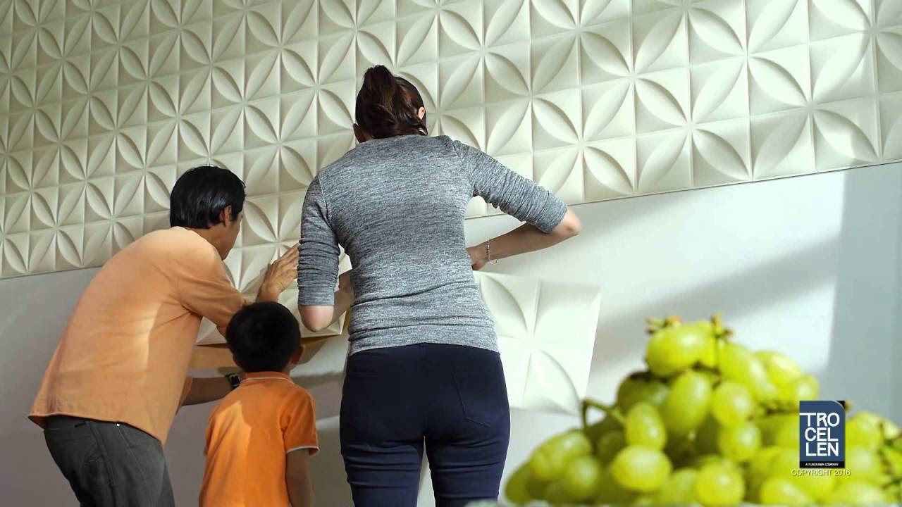 Decorare le pareti di casa con le tavole adesive 3d ecco for Piastrelle adesive pvc per pareti