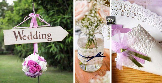 Favoloso Decorazioni Matrimonio Fai da Te Le nozze perfette! 14 idee per  YB04