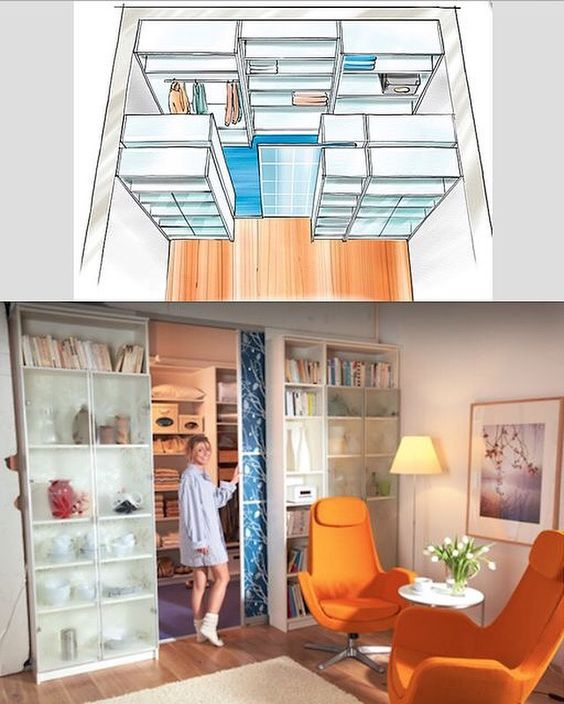 dividere 2 ambienti dentro casa in modo originale e creativo 20 idee. Black Bedroom Furniture Sets. Home Design Ideas