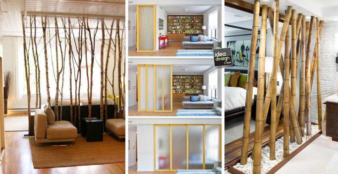 Dividere 2 ambienti dentro casa in modo originale e creativo! 20 idee...