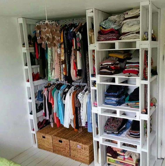 Dressing & DIY Schuhregal mit Palette! 12 Ideen zu sehen...