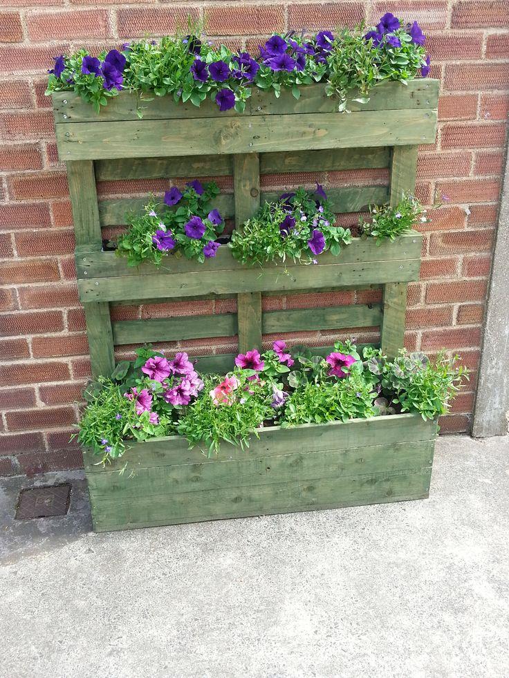 Amato Fioriere da giardino fai da te realizzati con bancali! 20 idee  UI33