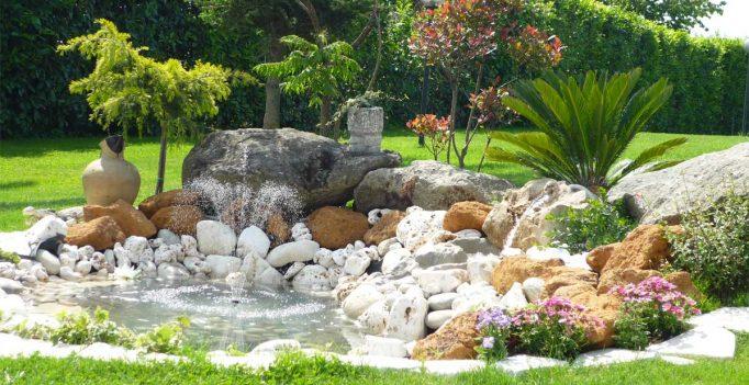 Una piccola oasi in giardino 20 idee stupende tutorial - Abbellire il giardino fai da te ...