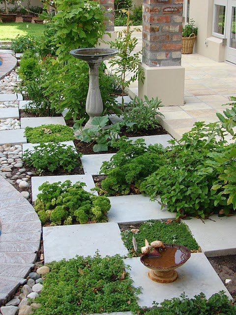 Posare le mattonelle da giardino