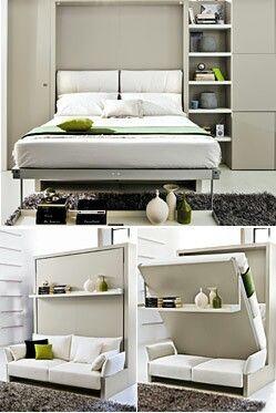 Soluzioni per un letto salvaspazio 20 idee lasciatevi - Letto salvaspazio ikea ...