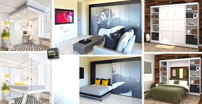 Soluzioni per un letto salvaspazio 20 idee lasciatevi - Soluzioni salvaspazio casa ...