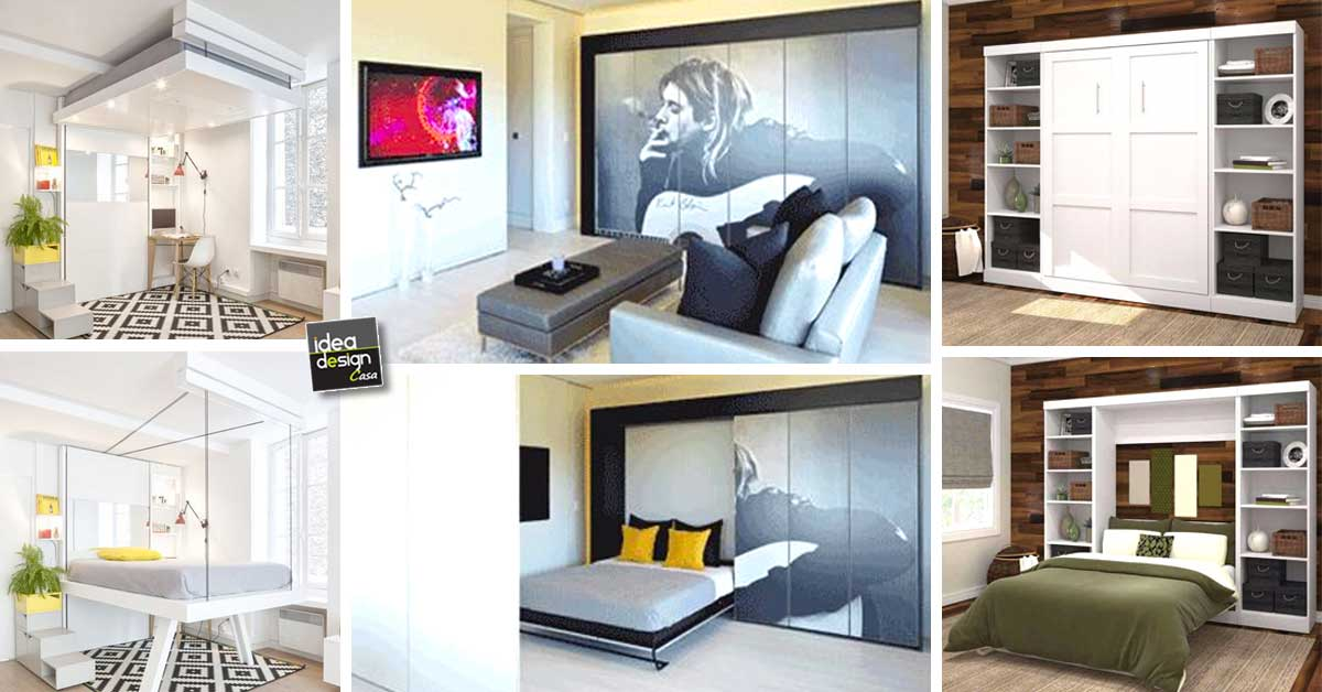 Soluzioni per un letto salvaspazio 20 idee lasciatevi ispirare - Idea design casa ...