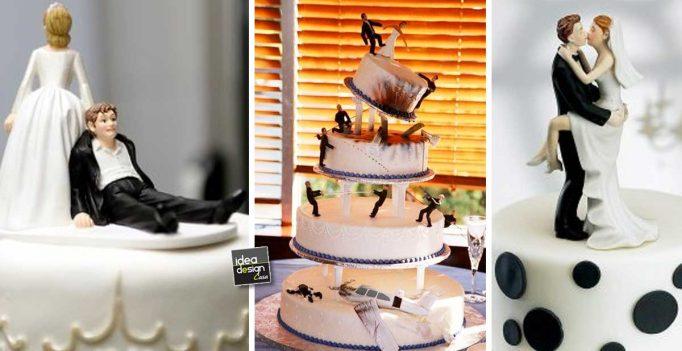 Ben noto Torte nuziali insolite e originali! 17 esempi da vedere RW47