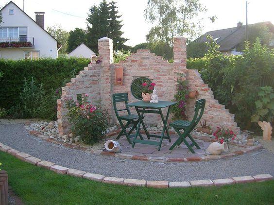Salottino particolare in giardino 20 idee da cui trarre for Gartenbeet planen