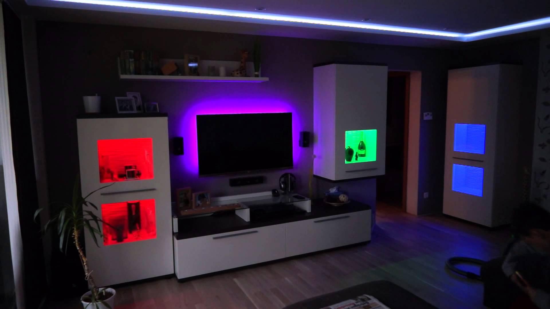Dekorieren Sie Das Haus Auf Originelle Weise Mit LED Leuchten Idee 8