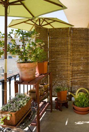privacy sul balcone