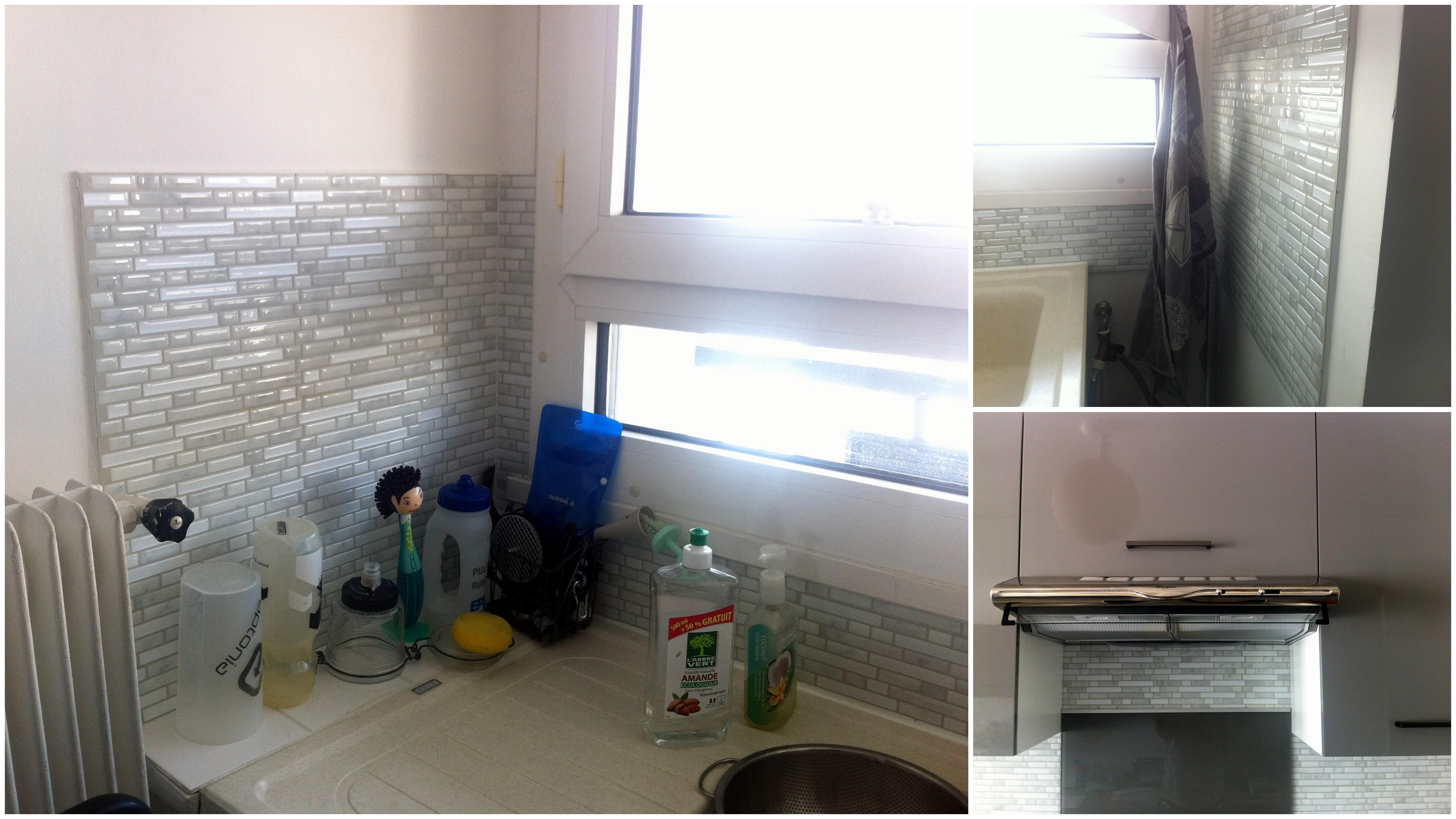 Rinnovare casa con le piastrelle adesive senza demolire - Piastrelle adesive per pareti ...