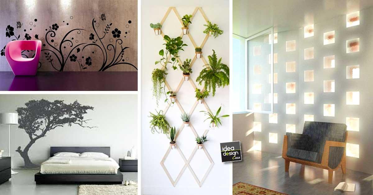 decorazioni originali per le pareti di casa 20 idee