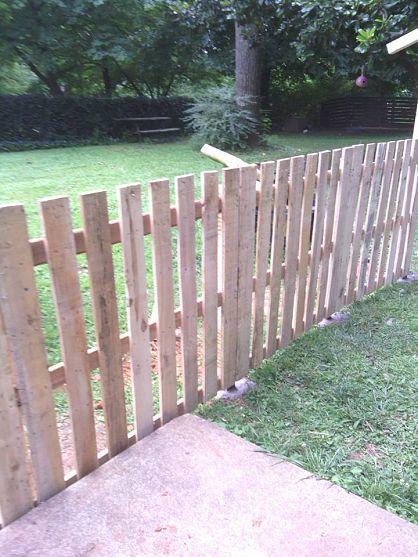 recinzione in legno fai da te con i bancali 20 esempi video